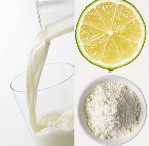Cách tẩy tế bào chết da mặt bằng bột mỳ