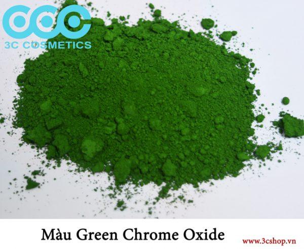 Màu green chrome oxide