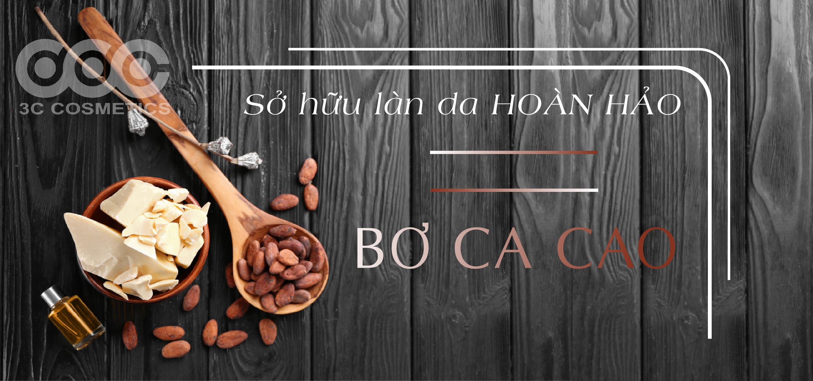 Cách sử dụng bơ cacao làm đẹp