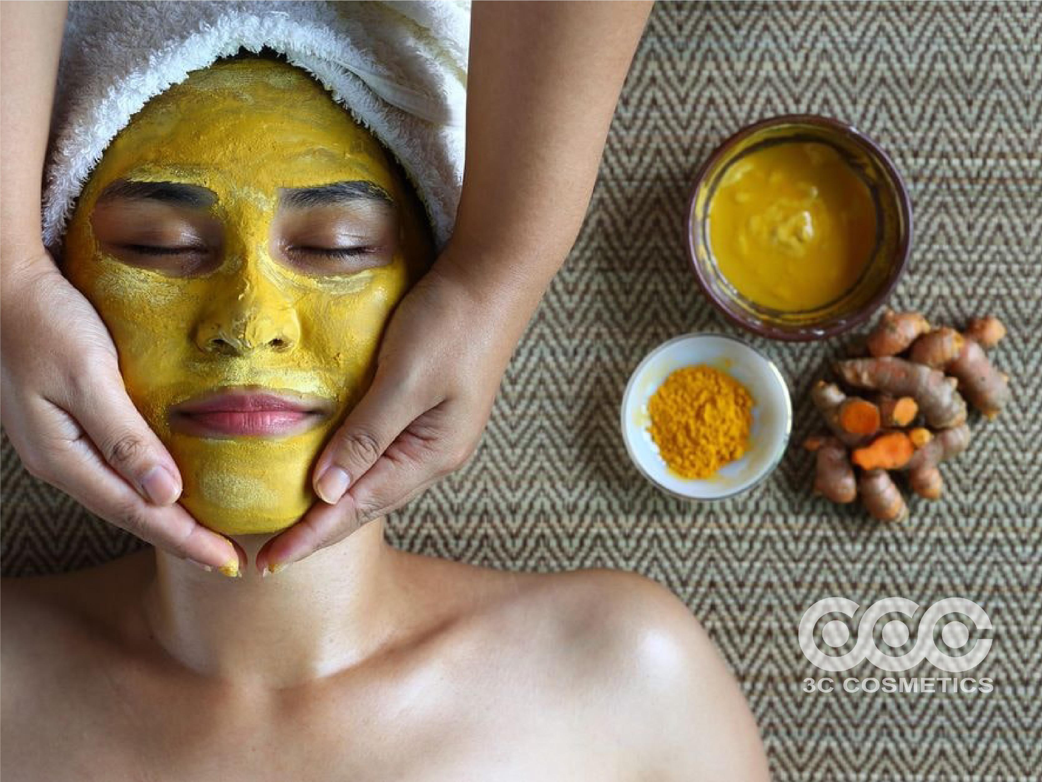 Làm mặt nạ dưỡng da mặt với tinh dầu nghê