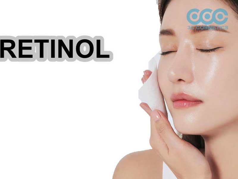 Retinol giúp trị mụn, trẻ hóa làn da