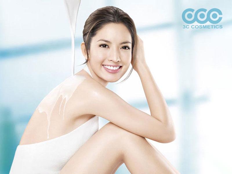 kem dưỡng trắng body 3C